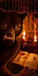 Werewolf Bookmark
