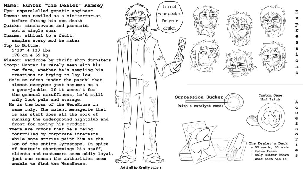 Hunter Ramsey (Kraftinuum Character)