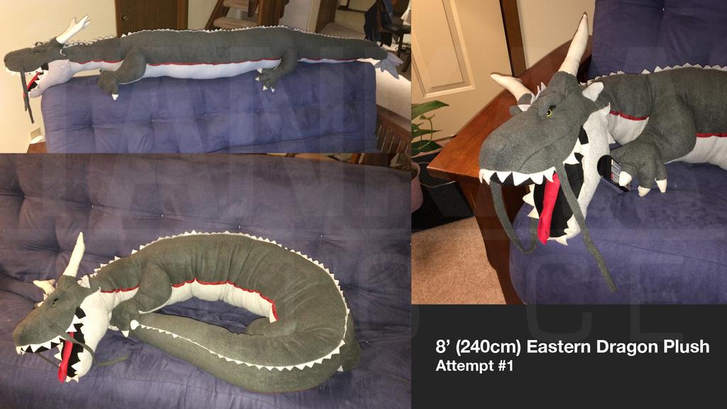 Eastern Dragon Plush #1