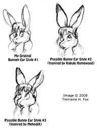 (2008) Bunny Ears! (Different Styles)