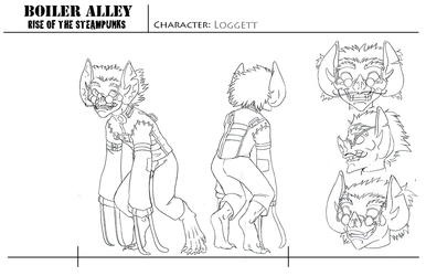Character Sheet - Loggett