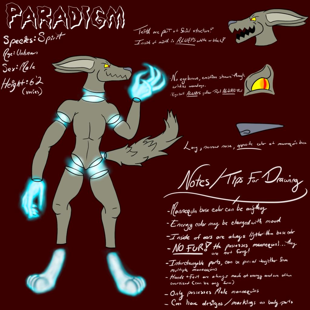 Paradigm Reference Sheet