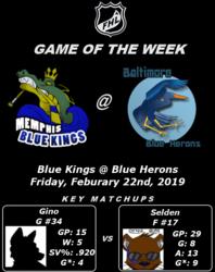 FHL Season 7 Game of the Week #13: Blue Kings @ Blue Herons