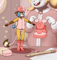 Magical girl doll dress up