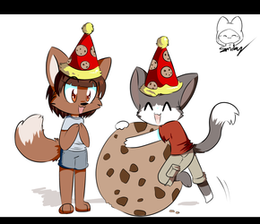 Commission: Chibi Birthday