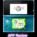 Colors!3D For The Nintendo 3DS App Review! Colors3D