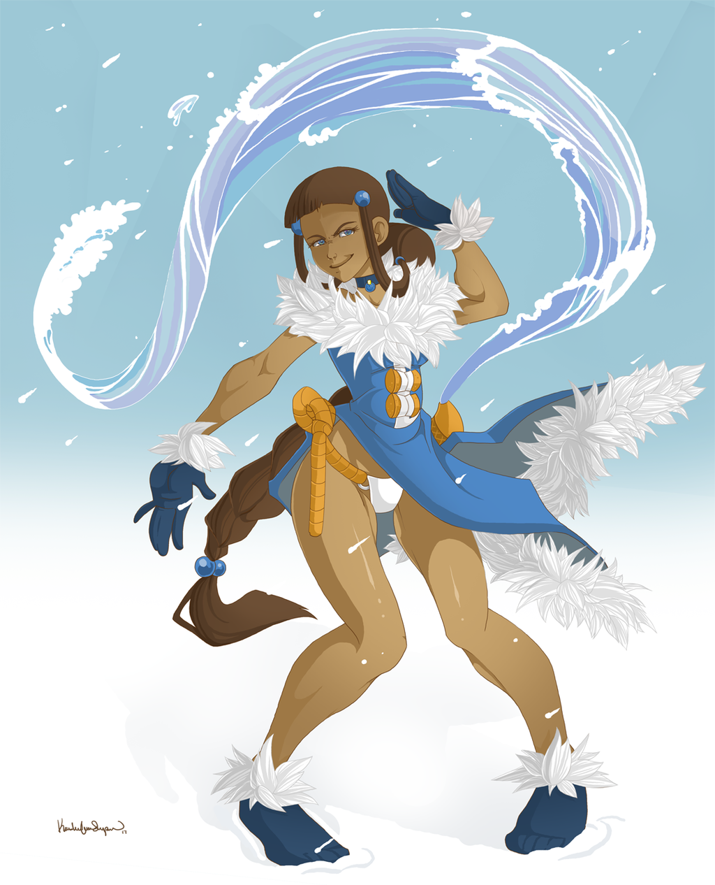 Most recent image: Pretty Cold Katara