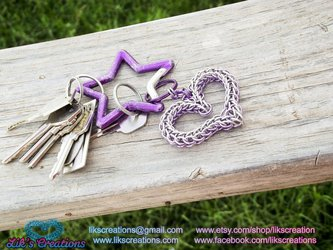 Heart Key Chain perspective
