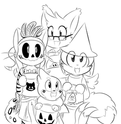 Commission: Halloween Theme