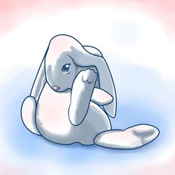 Simple Grooming Rabbit