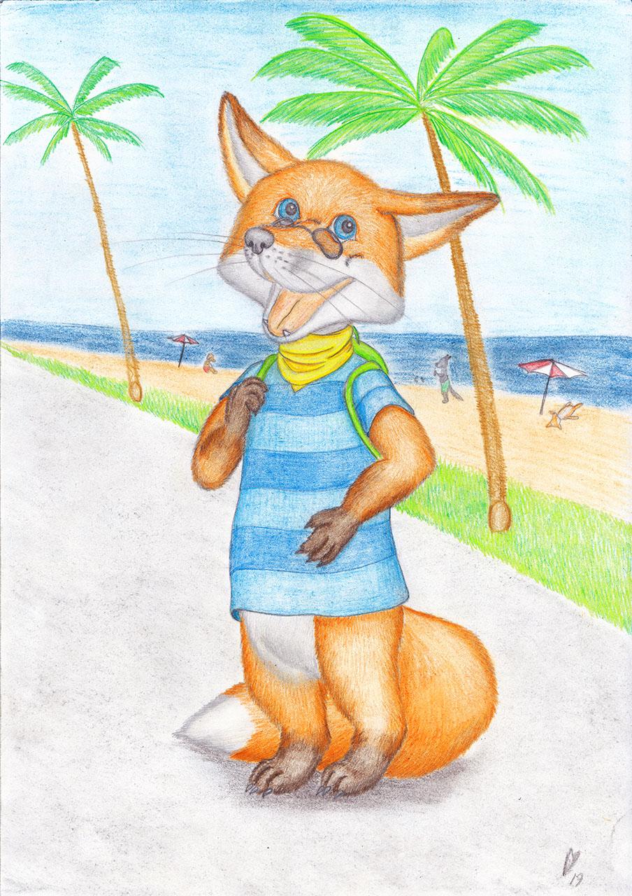 Fox on Holidays