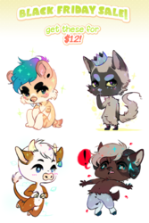 [CLOSED] BLACK FRIDAY SALE: $12 cheebs!