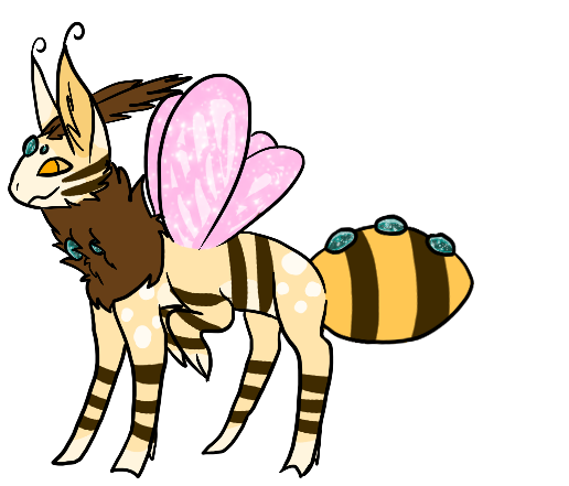 Bumblebee Flutterfae