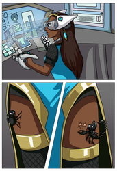 [commission] spider comic 2
