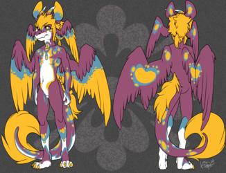 IMP DRAGON: Ref Style - Stellar Peacock