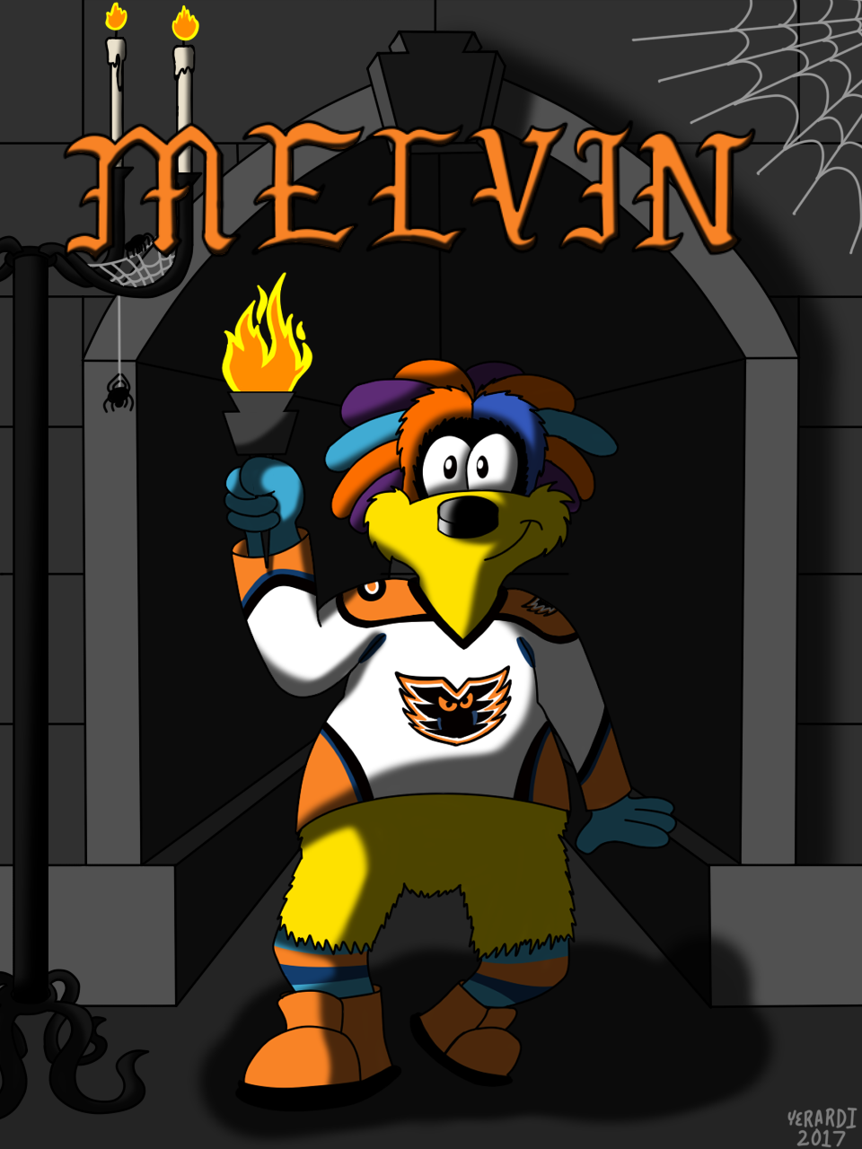 AHL MAX Series Number 07 of 30: MeLVin - Lehigh Valley Phantoms