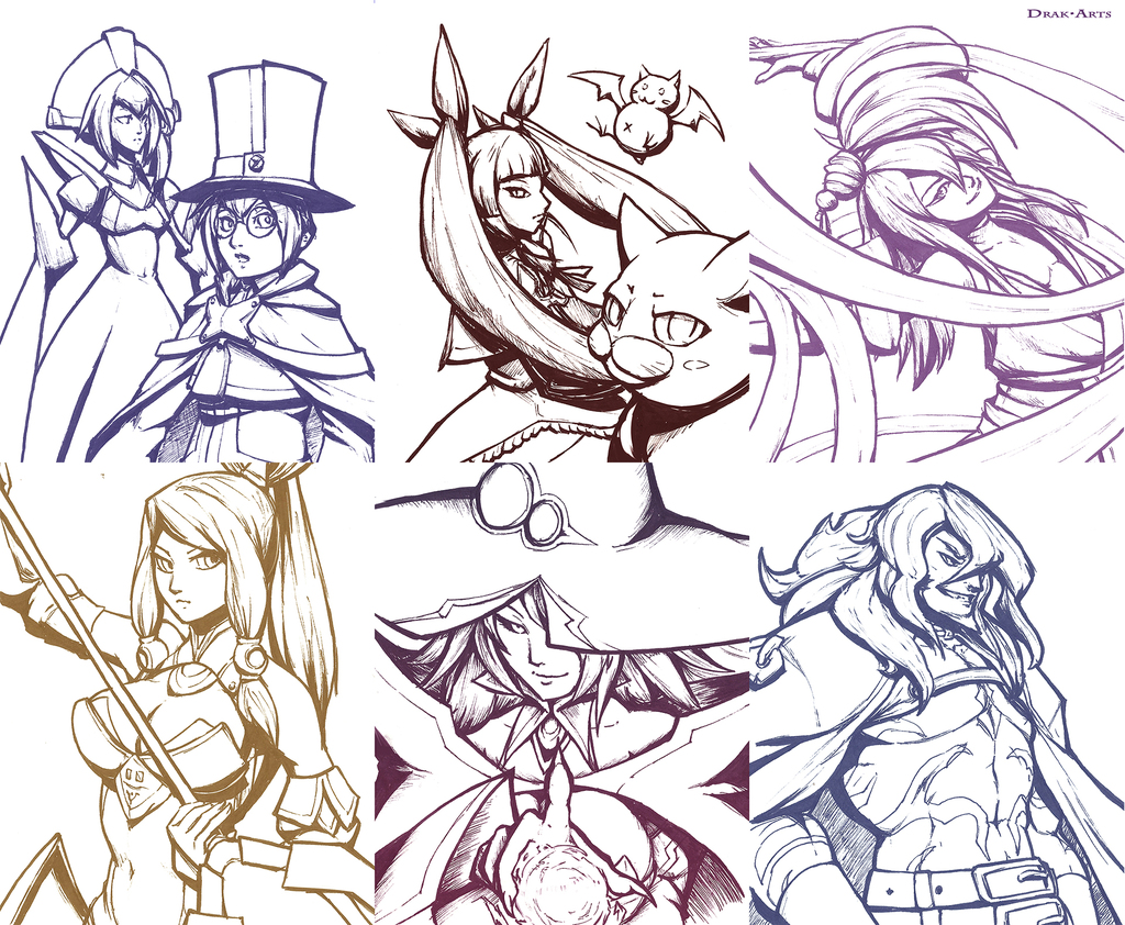 Most recent image: Inktober '16 - Blazblue Set 5