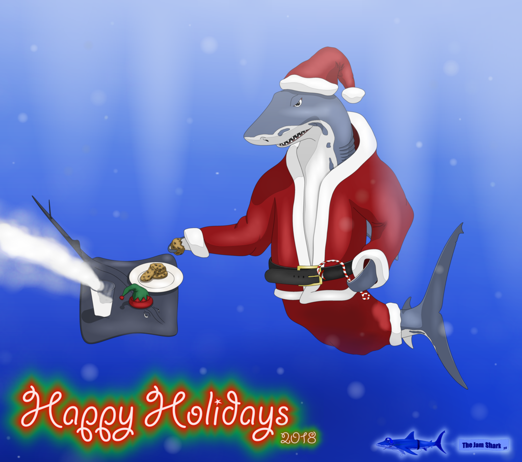 Most recent image: The Jam Shark - Happy Late Christmas 2018