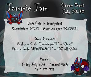 Jammie Jam is HERE!