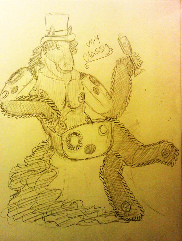 Califur Chainsaw Horse
