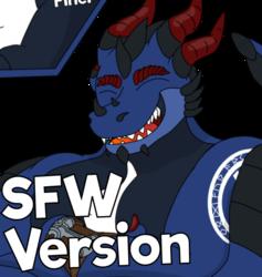 Dragon Hug [SFW Version]