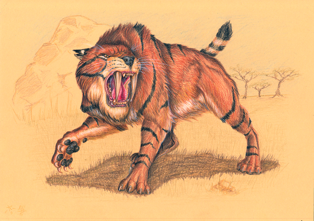 'ROWR!' means 'I love you' in smilodon