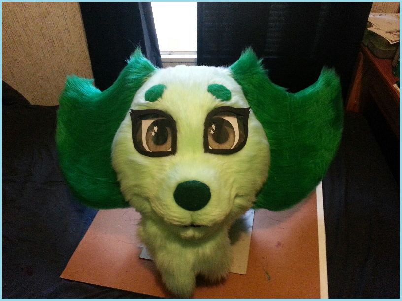 Boi's Suit WIP - Finished Head!