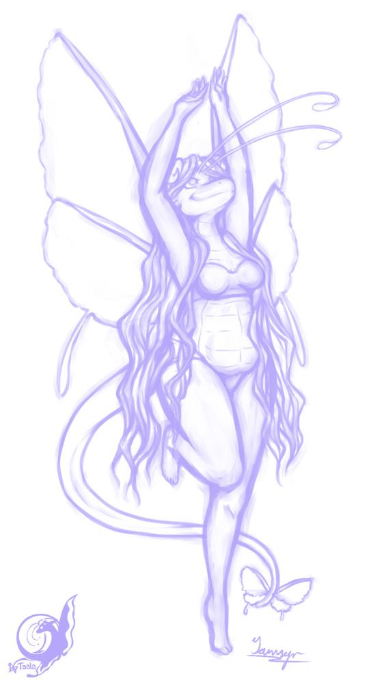 Taala Twirl - Digital Sketch
