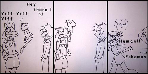HPF Comic 1: HUMAN! - by Shirou14