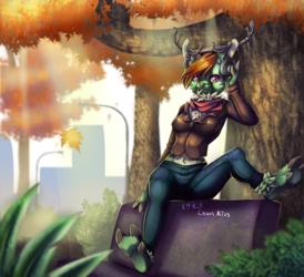 [Comm] Mida-Ashren - Xio in a park