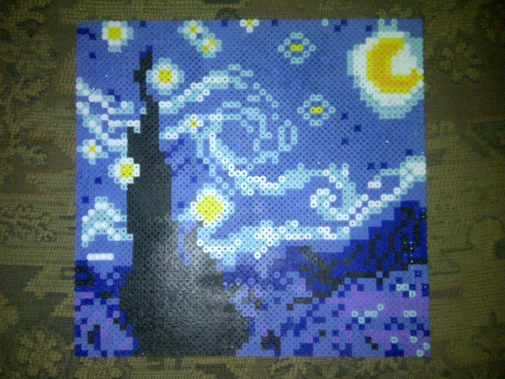 Most recent image: Starry Starry Night, Paint Your Pallet Blue and Gray