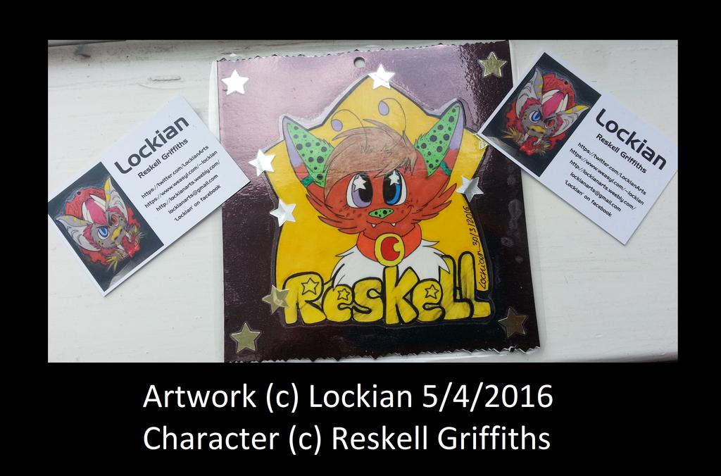 Reskell 'Star Child' Badge