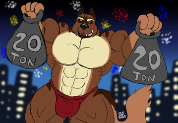 Sketchmission: WulfBane's New Year