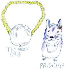 Moon orb and Priscilla