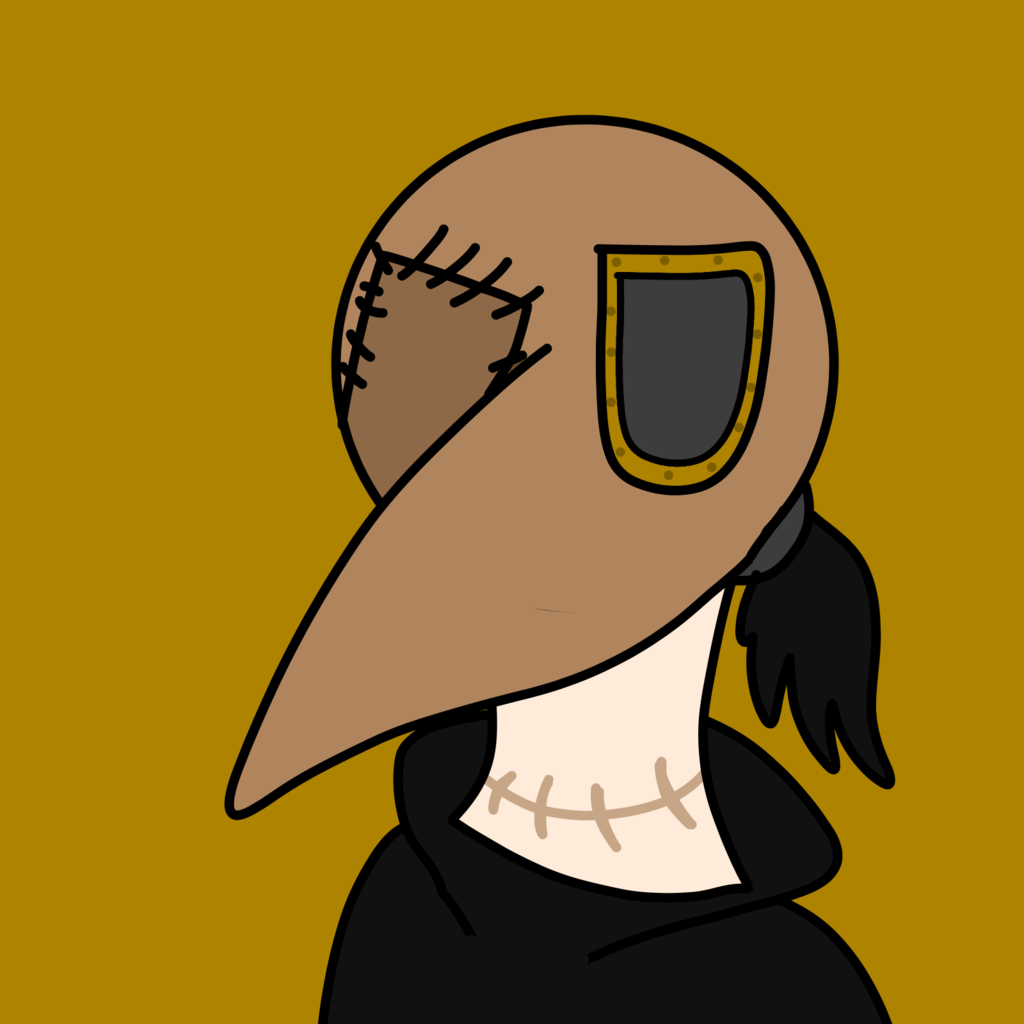 Most recent image: This just in: Eldrich God loves the Aesthetic of plague docs