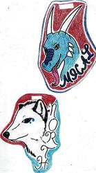 BADGES--North and Mical
