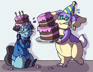 Commission - Cake Mistake