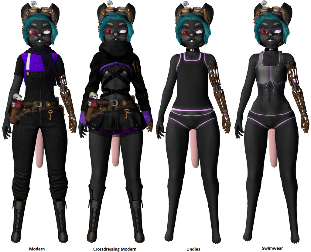 Most recent image: My Mouse Character - Other Outfits