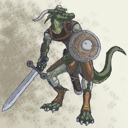 Badass Dragon Knight