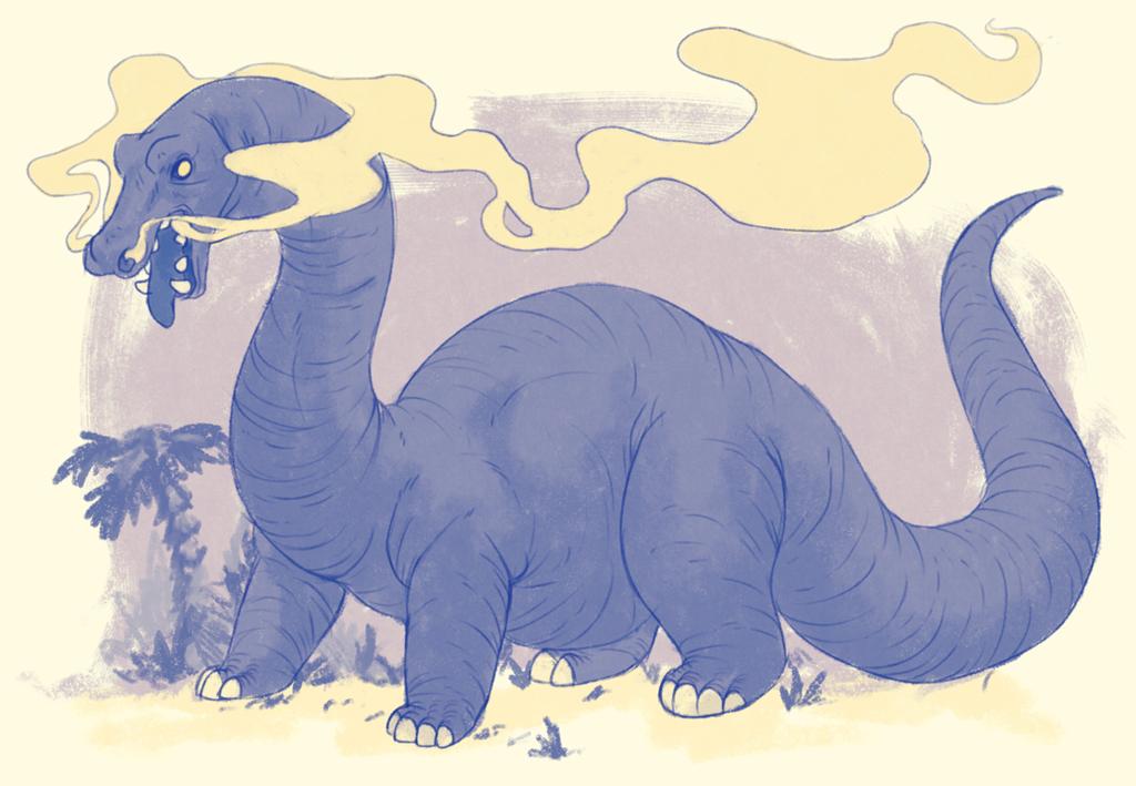 a fuckign dinosuar