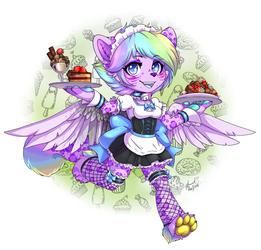 Waitress Airin