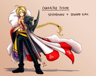 Character Fusion: Sesshomaru + Edward Elric