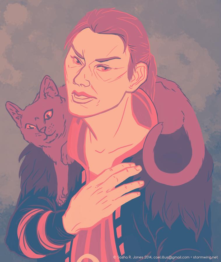 Anders, Defender of Kitties