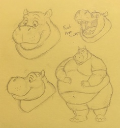 Hippo Doodles