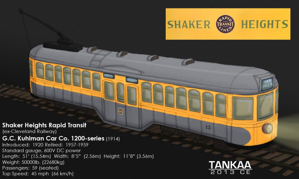 SHRT Kuhlman 1200-series Streetcar