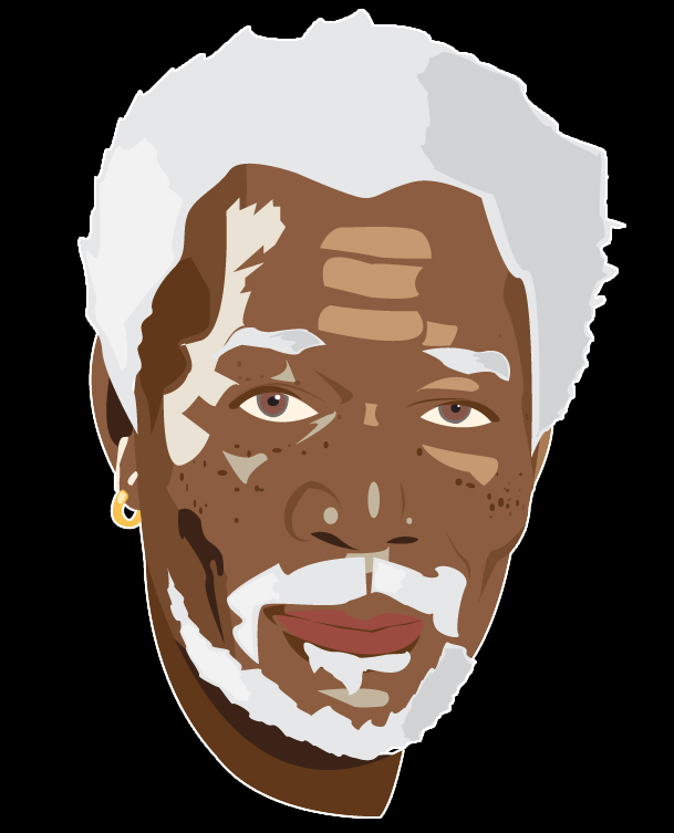 Morgan Freeman - Illustrator