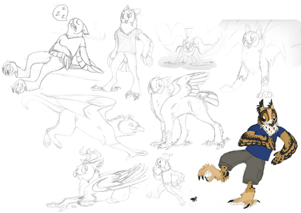 Most recent image: sketches!
