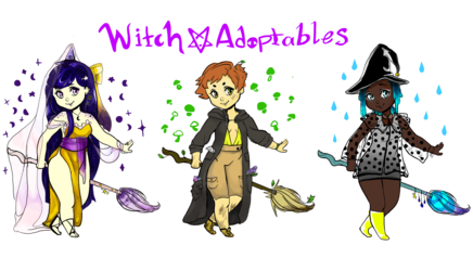 ✦Witch Adoptables✦ [OPEN]