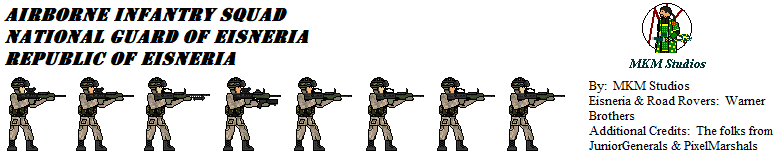 Eisneria National Guard Soldiers Squad 02