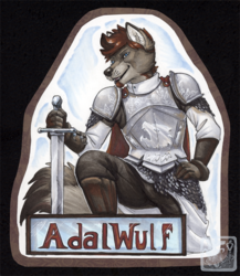 AdalWulf Badge